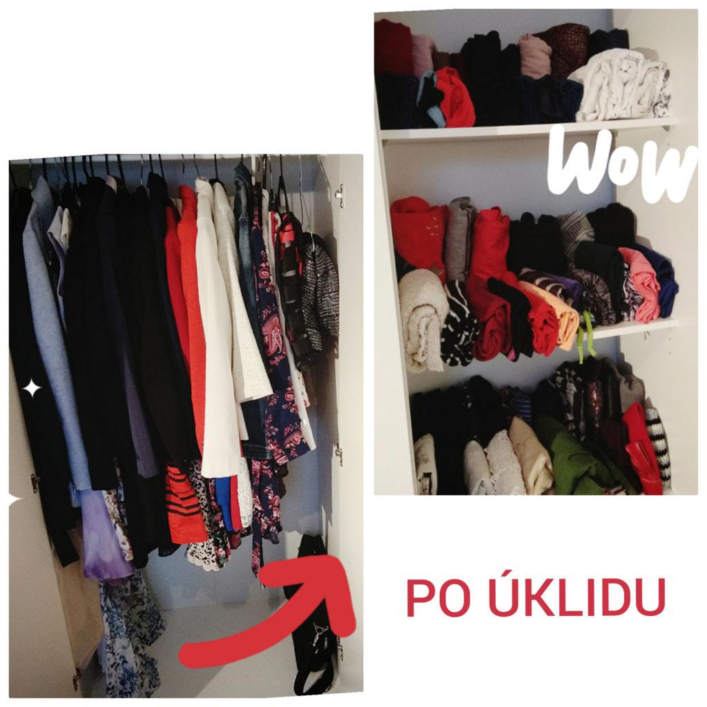 Obrázek oblečení po úklidu