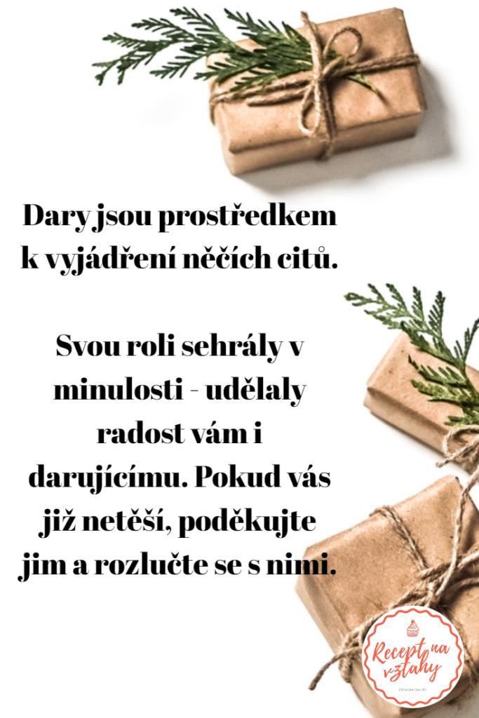 Citát o darech