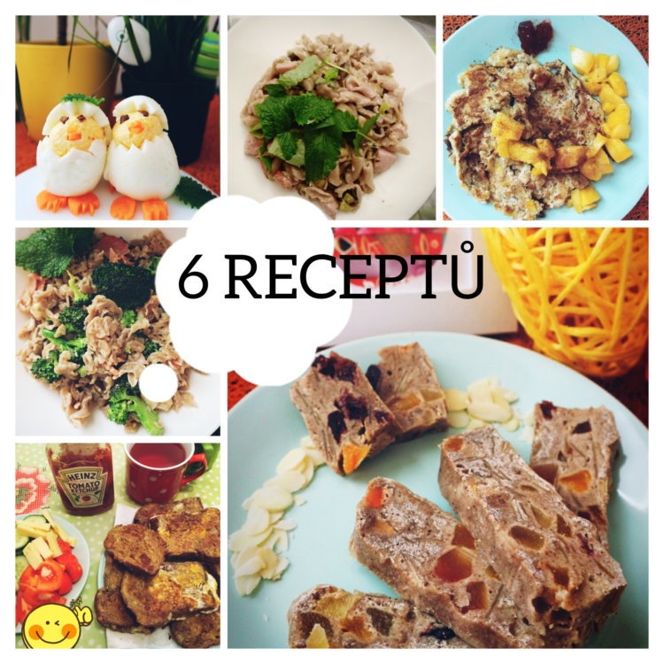 6 receptů pro dva