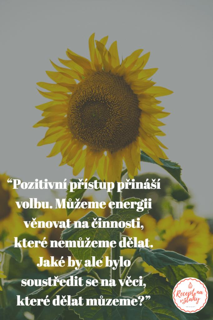 laskavost a pozitivní myšlení