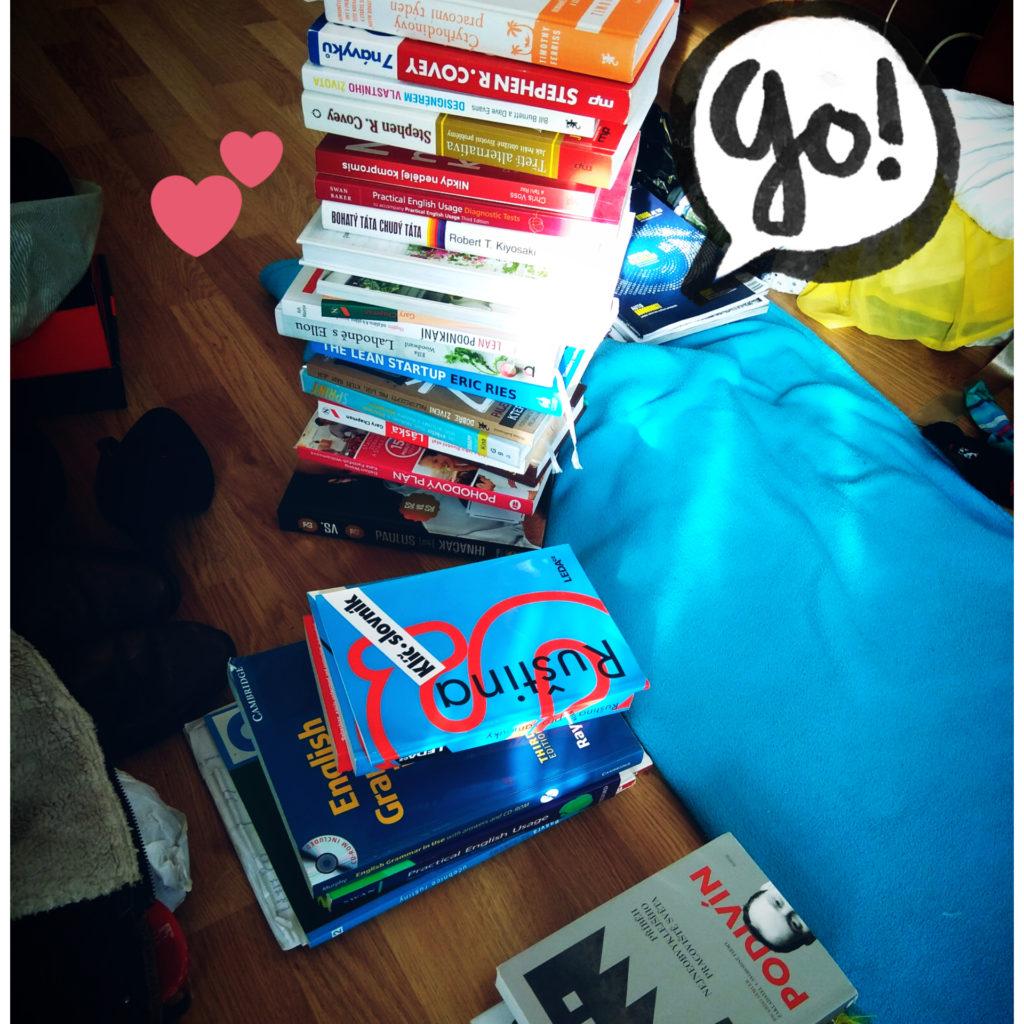 Jak si uspořádat knihy Marie Kondo