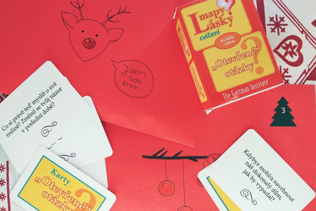 kartičky gottman vánoce valentýn